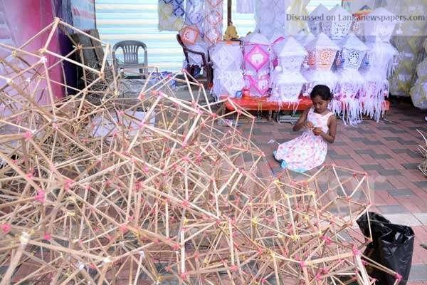 Sri Lanka News for Preparing for Vesak
