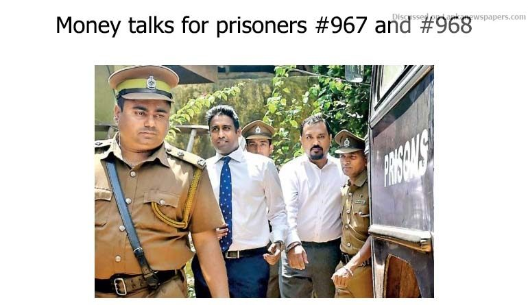 Sri Lanka News for Money talks for prisoners #967 and #968