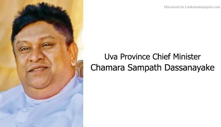 Sri Lanka News for Reappointment of Uva CM Teacher TUs threaten action