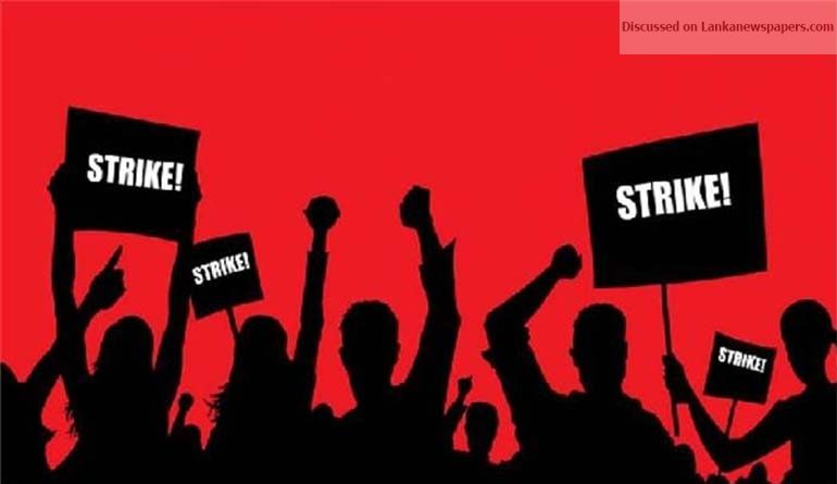 strike in sri lankan news