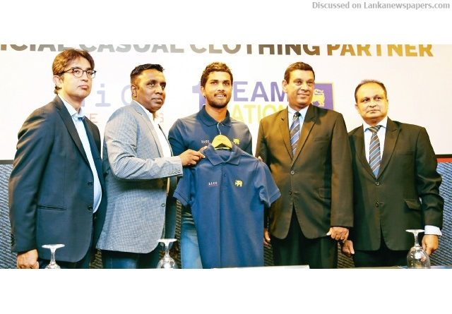 Sri Lanka News for SLC tie up with new Casual Clothing Partner