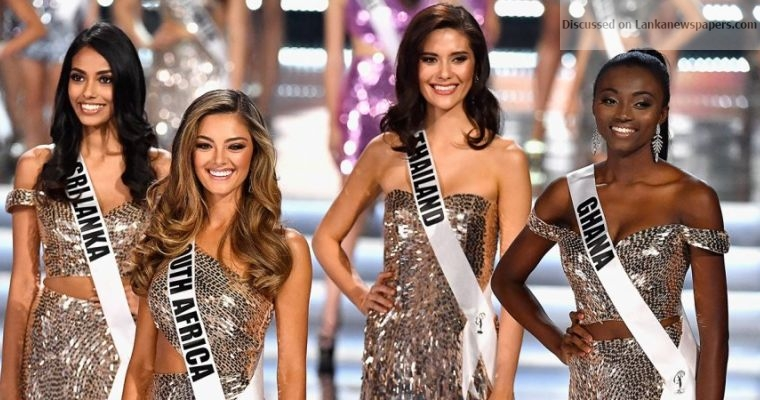 Sri Lanka News for Sri Lanka among Top 16 in Miss Universe 2017