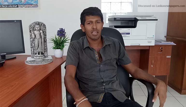 Sri Lanka News for Mahason Balakaya leader assaulted by prison pharmacist