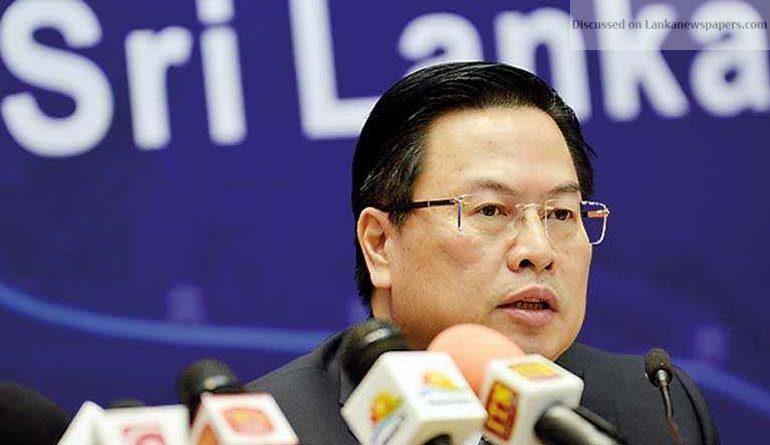 china in sri lankan news