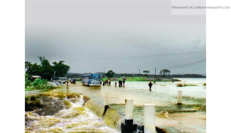 flood in sri lankan news