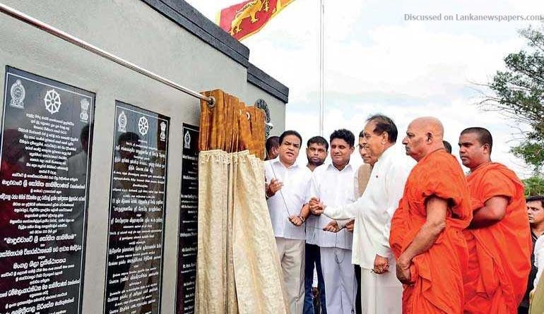 Sri Lanka News for India develops Most Ven. Maduluwave Sobitha Thero Village in Anuradhapura