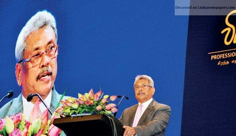 Sri Lanka News for Presidential-aspirant Gota gets going on Vision 2030