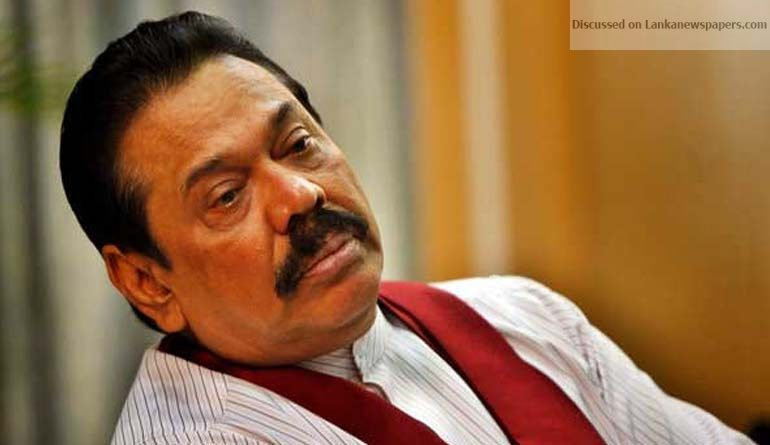 Sri Lanka News for Mahinda comes to Ranil's rescue once again!