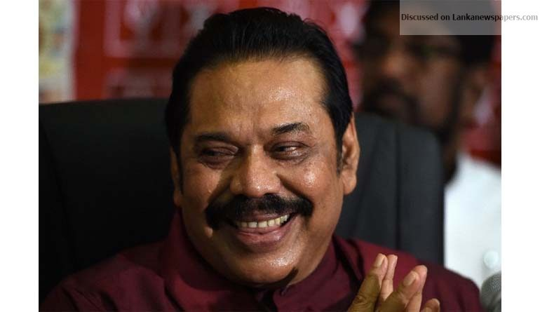Sri Lanka News for Mahinda Rajapaksa hints at 2020 presidential bid