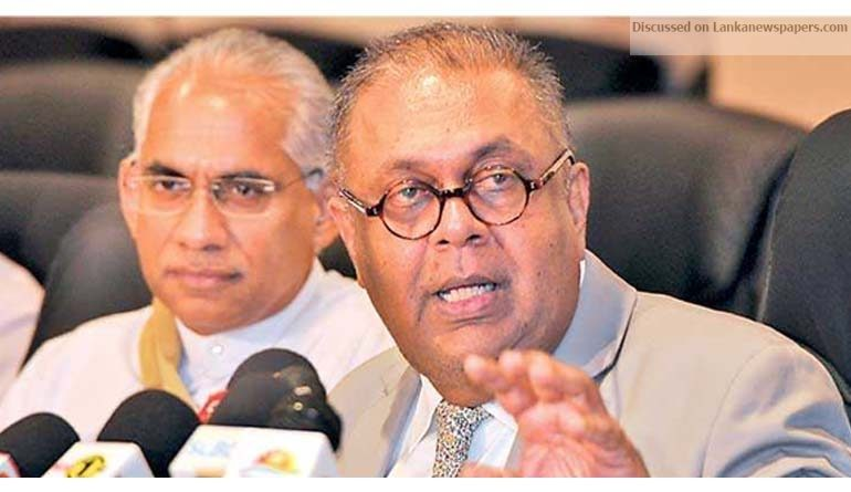 Sri Lanka News for Sri Lanka policy conflicts a sign of democracy: Finance Minister
