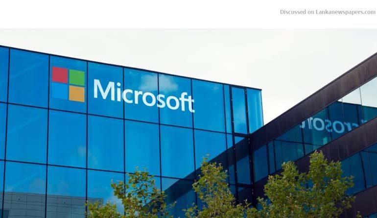 Sri Lanka News for Govt. partners Microsoft on digital transformation initiative