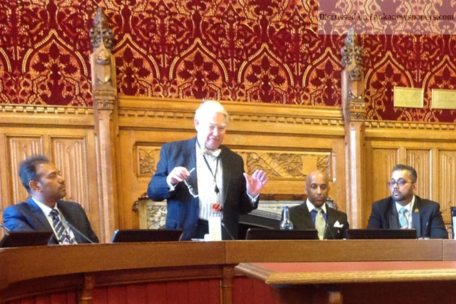 Sri Lanka News for Lord Naseby meets Sri Lankan Diaspora at House of Lords
