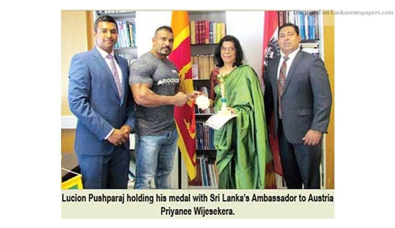 Sri Lanka News for Pushparaj wins silver at Austrian International Championship