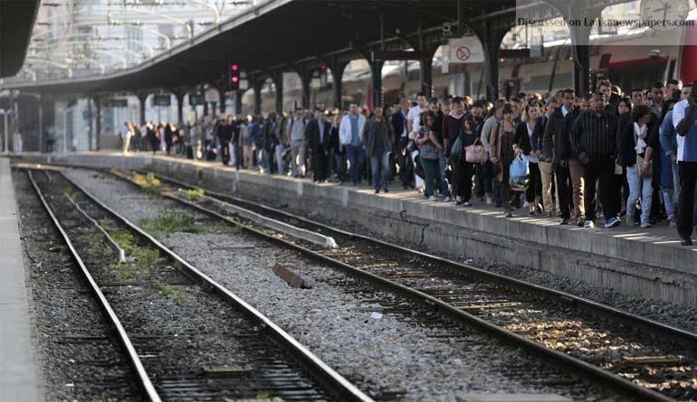 Sri Lanka News for Striking Rail Unions say no sabotage