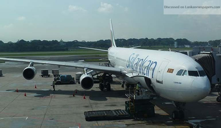 Sri Lanka News for Sri Lankan plane with 228 on board hits runway light at Cochin