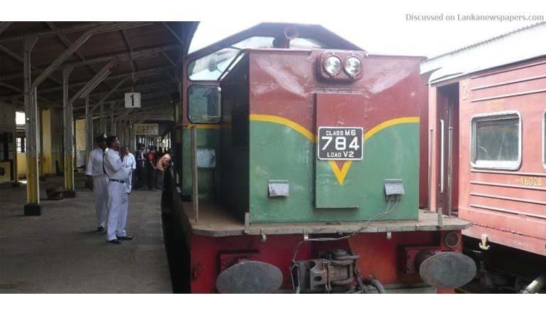 train in sri lankan news