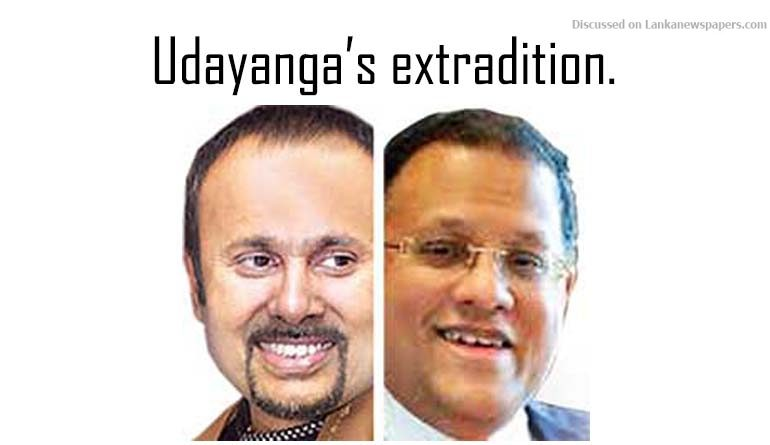 Sri Lanka News for Necessary information provided to Interpol for Udayanga's extradition.