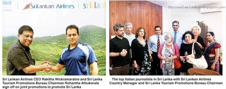 Sri Lanka News for SLTPB tie-up with airlines on joint promos
