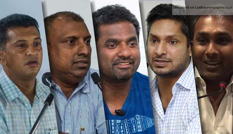 Sri Lanka News for Mahela, Murali and Mahanama reject SLC offer