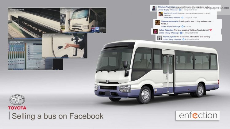 Sri Lanka News for How To Sell A Bus On Facebook And Other Stories.