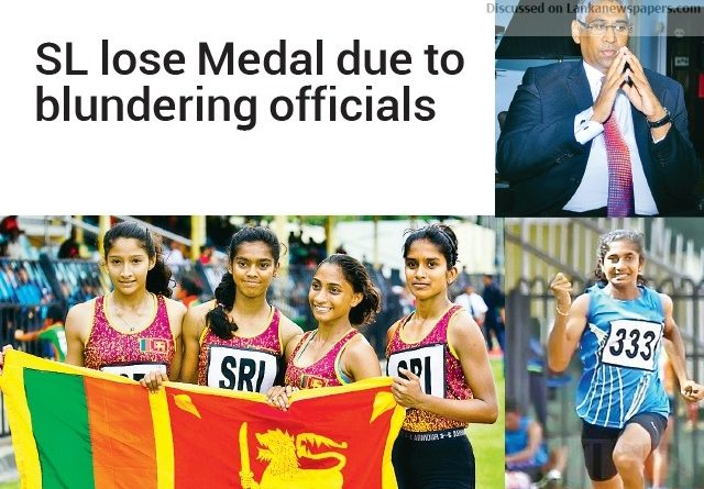 Sri Lanka News for SL lose Medal due to blundering officials