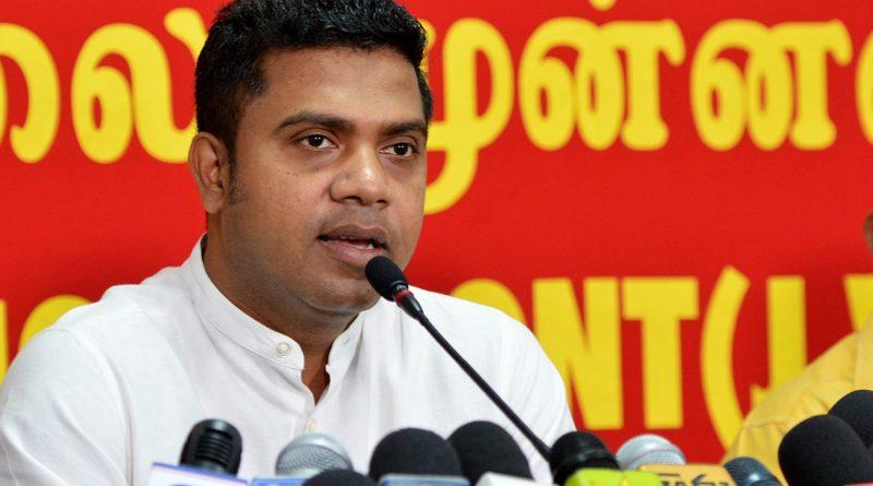 Nalinda Jayathissa in sri lankan news