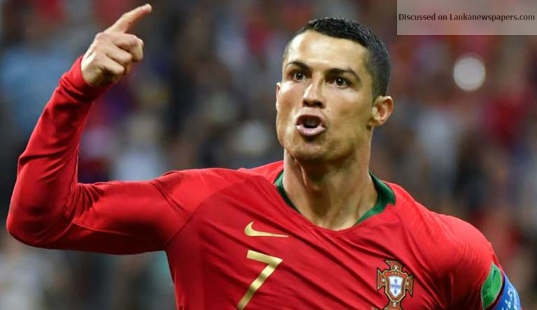 Sri Lanka News for Cristiano Ronaldo late free-kick earns a draw
