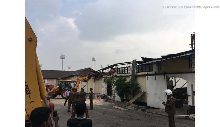 Sri Lanka News for Was the building collapse in Grandpass planned?