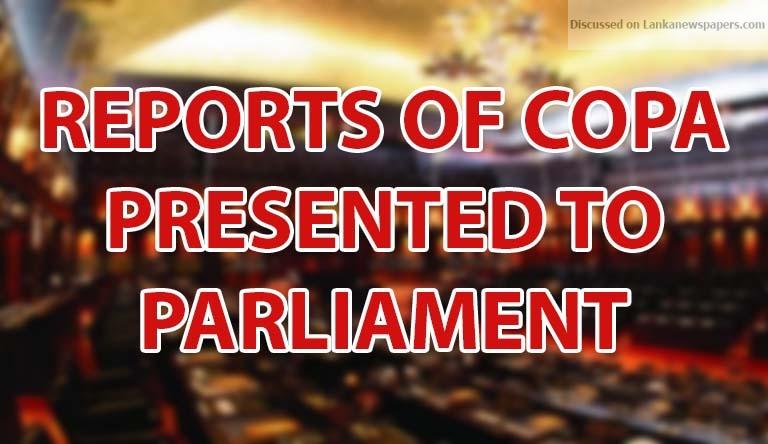 copa in sri lankan news