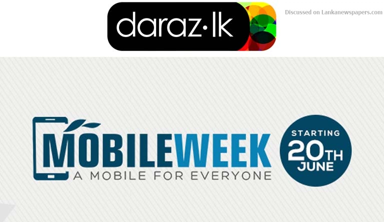 Sri Lanka News for Daraz.lk Introduces a Mobile Week like never before