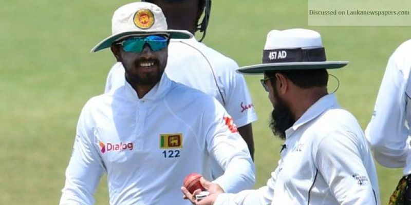 dinesh.chandimal in sri lankan news