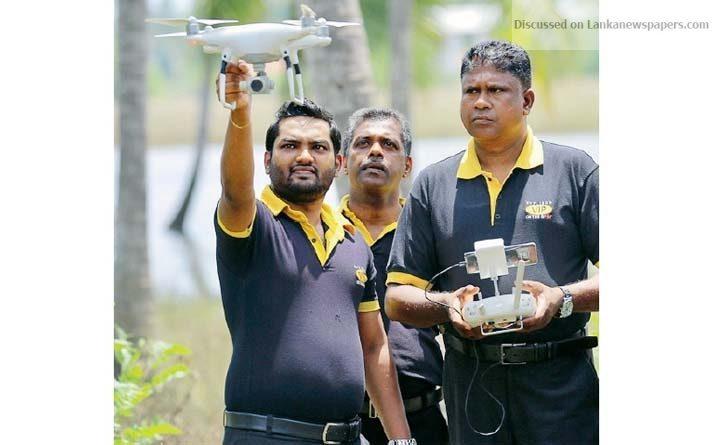 drones in sri lankan news