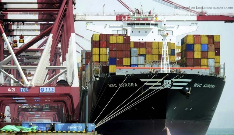 Sri Lanka News for Sri Lanka's April exports flat, car imports help widen trade gap