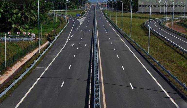 Sri Lanka News for Matara – Colombo Expressway fares to be reduced to Rs 460 from July 1
