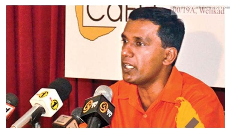 Sri Lanka News for Release names of 118: CaFFE writes to Aloysius, Palisena