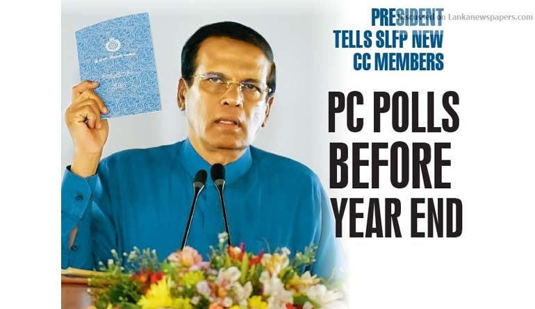Sri Lanka News for PC polls before year end