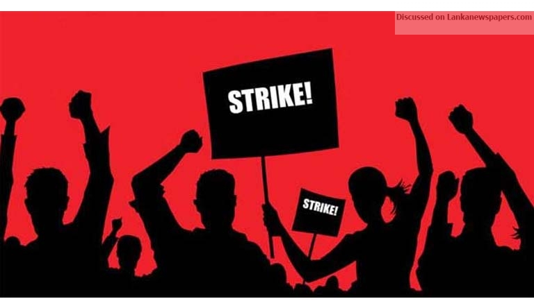 Sri Lanka News for Public Administrative Service employees on strike