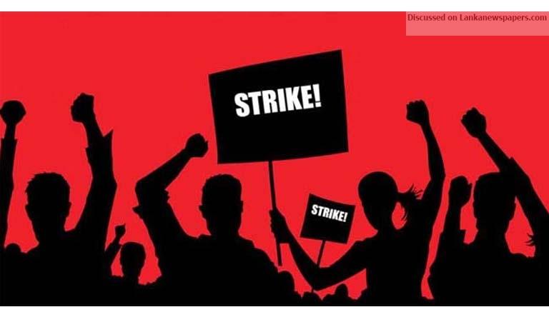 strike in sri lankan news
