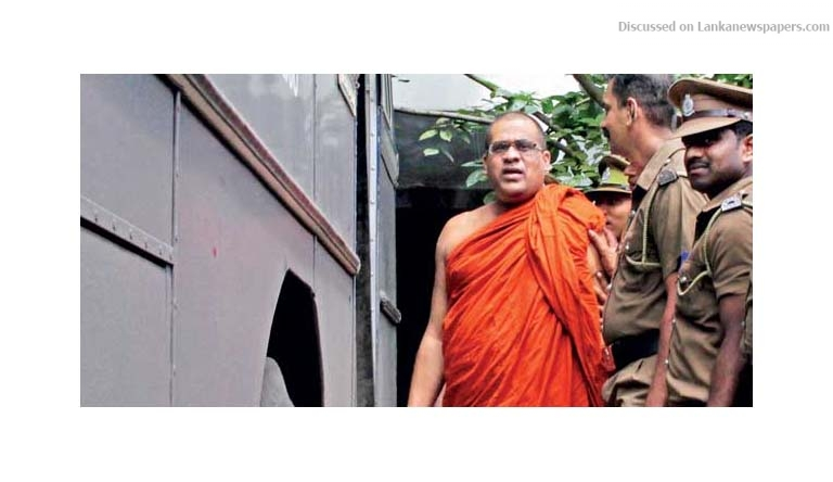 Sri Lanka News for Ven. Gnanasara Thera sentenced to six months RI