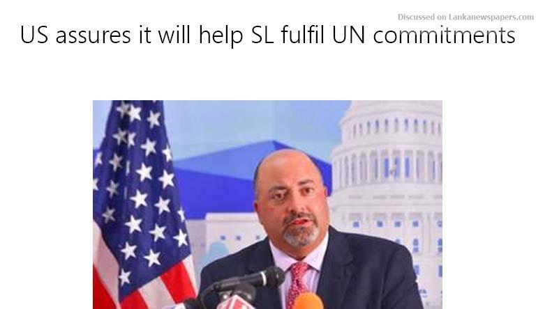 Sri Lanka News for US assures it will help SL fulfil UN commitments