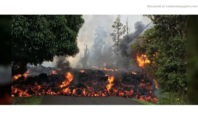 Sri Lanka News for Hawaii volcano forces series of evacuations on Big Island