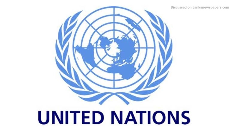 UN in sri lankan news