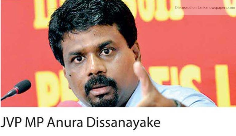 Sri Lanka News for SL lost economic independence due to corrupt development projects: JVP