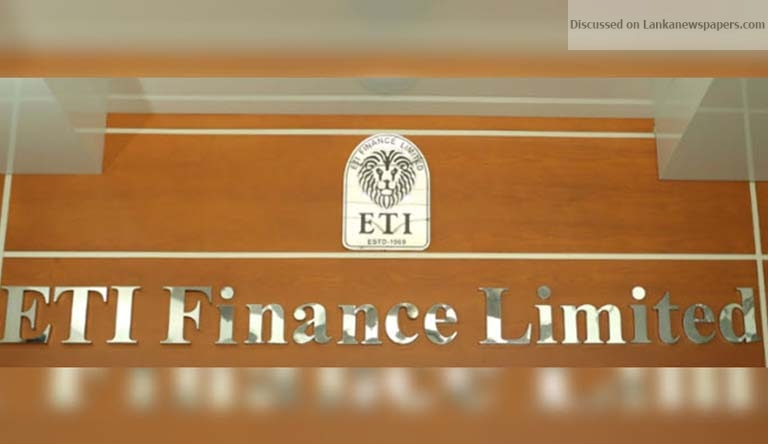 Sri Lanka News for ETI Finance to be purchased at US $ 75 million