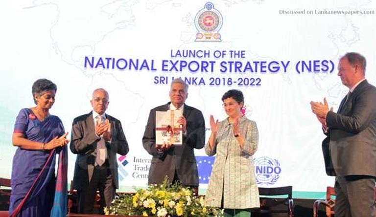 Sri Lanka News for Govt. launches landmark five-year National Export Strategy