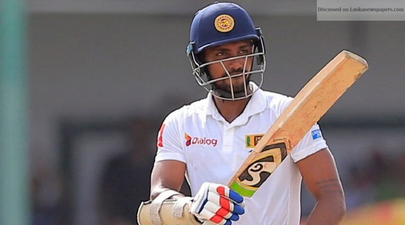 Sri Lanka News for Gunathilaka suspended by SLC from all forms of international cricket