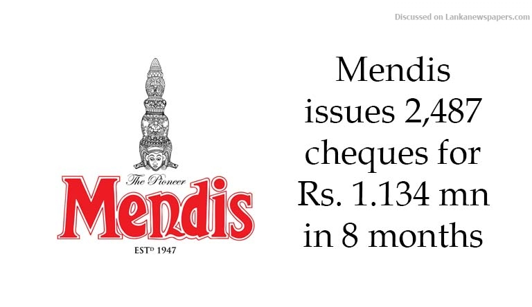 Sri Lanka News for Mendis issues 2,487 cheques for Rs. 1.134 mn in eight months