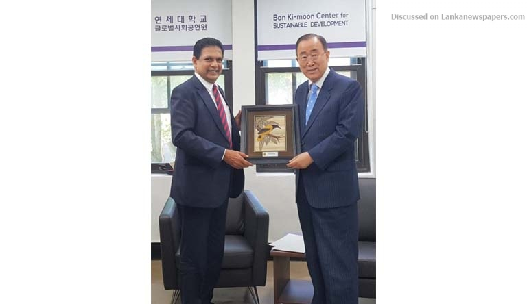 Sri Lanka News for ENVIRONMENT SECRETARY MEETS PRESIDENT OF THE GLOBAL GREEN GROWTH INSTITUTE