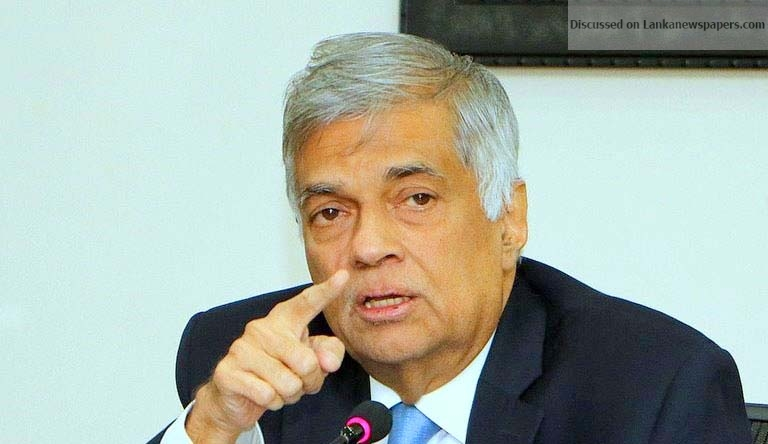 Sri Lanka News for ANY MINISTER PROTECTING UNDERWORLD WILL BE PUNISHED – PM