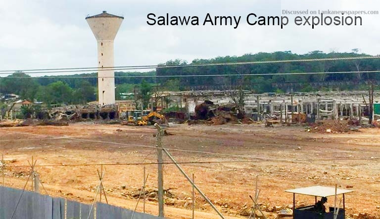 Sri Lanka News for ACTION AGAINST 14 OFFICERS – Salawa Army Camp explosion